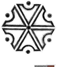 Symbol of Perun, God of Thunders