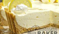 Buttery Coconut Bars - The Midnight Baker - Simple Ingredients Coconut Squares Recipe, Lemon Pie Recipe, Lemon Recipes, Pie Recipes, Sweet Recipes, Pineapple Cream Pie Recipe, Lemon Coconut, Coconut Bars, Lemon Lush