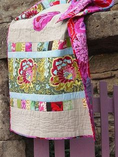 Gorgeous!... another idea for my Kaffe Fassett collection