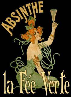 Absinthe in Paris