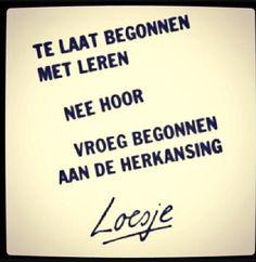 Loesje - Leren