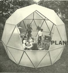 Charter-Sphere Dome - alternative to the geodesic.  Designed by TC Howard of Synergetics, Inc and Charter Industries, Inc.