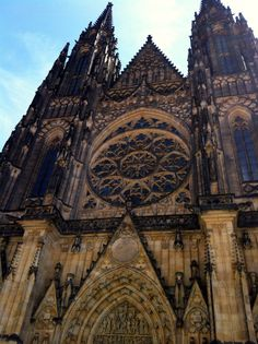 Prague Gothic Architecture. My good friend lives in Prauge! I'll totally ask her about it.