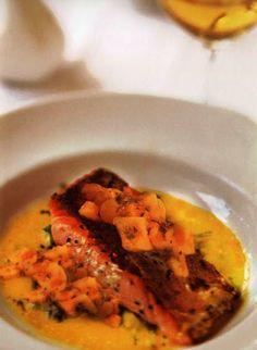 Flavors of Brazil: RECIPE - Salmon with Mango Sauce (Salmão com Manga)