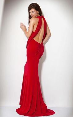 Sapandex-Red-Stylish-Prom-Backless-Dress-for-women