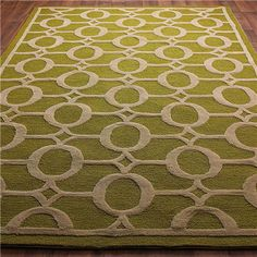 green apple rug!