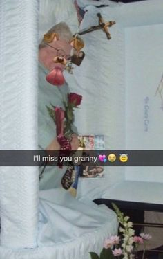 I'll mis you granny with all these snapchat filters!   #kidsTheseDays