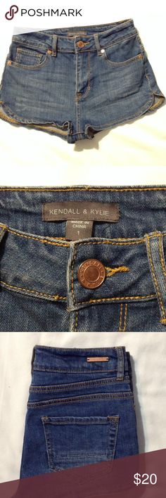 ‼️RESERVED for @lildesiqua‼️ DO NOT BUY‼️ **Kendall & Kylie Jean shorts. Sz-1 Condition-9/10 Kendall & Kylie Jeans
