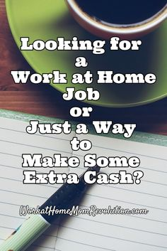 Making some extra income from home?