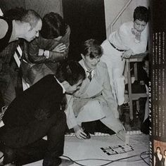 Rare photo of David in Japan, 1980