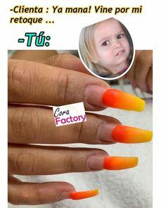 Nails Inspiration, Finger Nails, World, Funny Texts, Nail Memes, Fingernail Health, Colorful Nails, 7 Sins, Makeup