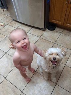 Cute Overload: Internet`s best cute dogs and cute cats are here. Aww pics and adorable animals. Funny Animal Images, Animals Images, Funny Animals, Cute Animals, Animal Pics, Funny Images, Happy Baby, Happy Dogs, Dog Pictures
