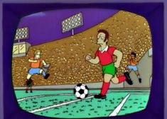 """""""Open Wide for Some Soccer!"""": The Simpsons' Brilliant Parody of the Beautiful Game"""