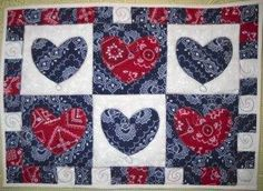 americana projects | Quilting Ideas | Project on Craftsy: Americana Bandanna ...