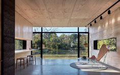 Каждый мечтает о таком виде из окна дачного дома.  (современный,минимализм,архитектура,дизайн,экстерьер,интерьер,дизайн интерьера,мебель,маленький дом,гостиная,дизайн гостиной,интерьер гостиной,мебель для гостиной,жилая комната) .