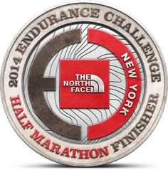 My 2014 North Face Endurance Challenge Half Marathon - New York Finisher Badge