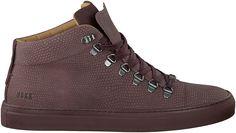 klassieke Rode Nubikk Sneakers JHAY MID