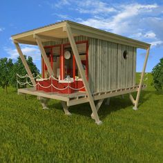 Wooden tiny house plans for sale, Pin-up houses Building Costs, Building A Tiny House, Tiny House Cabin, Building A Shed, Tiny House Living, Bamboo Building, Tiny Cabins, House Plans For Sale, Tiny House Plans