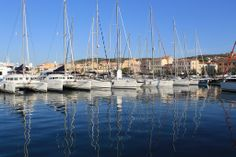 The harbour of La Maddalena