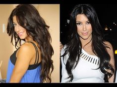 How to: Sexy, Loose Waves Inspired by Kim Kardashian's Hair