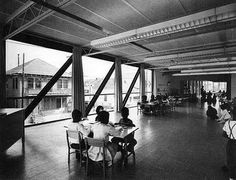 The Phillis Wheatley Elementary School. 2300 Dumaine St. New Orleans, LA, Frank Lotz Miller, photographer, Idea: The Shaping Force. Photo Source: Flickr regional.modernism. Charles Colbert, architect