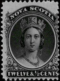 Sello%3A%20Queen%20Victoria%20(Nueva%20Escocia)%20(Queen%20Victoria)%20Mi%3ACA-NS%2010y%2CSn%3ACA-NS%2013a%20%23colnect%20%23collection%20%23stamps Old Stamps, Vintage Stamps, Vintage Art, Queen Vic, Postage Stamp Collection, Country Art, Stamp Collecting, Nova Scotia, British Royals