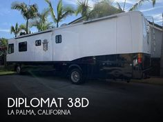 2001 Monaco Diplomat 38D, Class A - Diesel RV For Sale in La Palma, California | RVT.com - 175156 Diesel For Sale, Rv For Sale, Queen Outfit, Cummins Diesel, Looking For People, Blinds For Windows, Custom Paint, Motorhome, Colorful Interiors