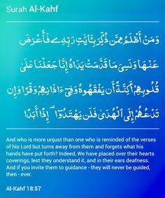 Surah Al Kahf, Islam Quran, His Hands, Verses, Lord, Learning, Scriptures, Studying, Teaching