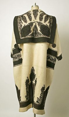 Coat Hungary 19th century what beautiful embroidery… Do you know what has become of the craft there today?