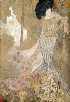 George de Feure - Fleurs d'automne (1900-1903)