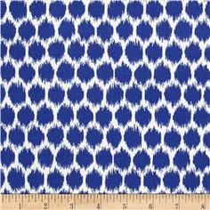 For the Kitchen chairs: Waverly Sun N Shade Seeing Spots Navy