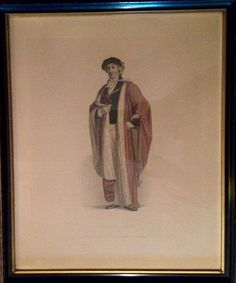 """Antique hand colored lithograph, Sept 1814, London published  - Doctor in Physic. 13 1/4""""w x 16""""h"""