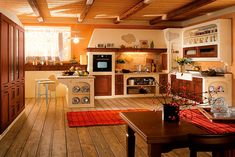 Cucina in muratura moderna n.19