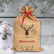 La hotte de noël personnalisée, pour un Noël magique !