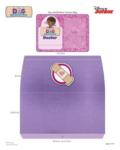 imprimible doctora juguetes7 Doc Mcstuffins Birthday Party, 4th Birthday Parties, Front Bottoms, Dramatic Play, Toy Chest, Party Themes, Decorative Boxes, Card Holder, Cards
