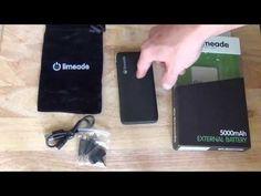 Limeade 5000mAh Battery Backup Review