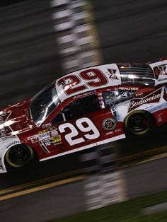 Harvick leads in shootout of NASCAR Sprint Unlimited