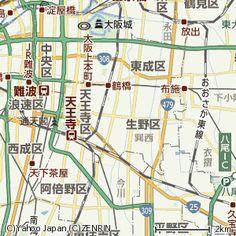 長戸千晶 生野区  大阪府大阪市生野区 - Yahoo!地図
