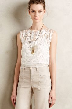 Shop the Emboridered Ivory Top and more Anthropologie at Anthropologie today. Read customer reviews, discover product details and more.