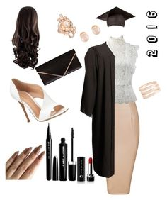 """""""graduation"""" by dressingmydreams ❤ liked on Polyvore featuring Lana Jewelry, Oscar de la Renta, Gianvito Rossi, LE VIAN, Kenneth Jay Lane, Marc Jacobs, Givenchy and graduationdaydress"""