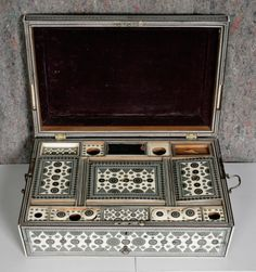 Indian Vizagapatam Work Box 19th Century | 5915