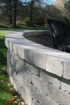 Yorkshire™ Wall is a tumbled, single-piece system that is perfect for garden wall applications. Because of the wall's symmetry, it can be turned in different directions to create a unique look. It's also great for fire pits, outdoor kitchens, building steps and sitting walls. Building Steps, How To Build Steps, Free Standing Wall, Outdoor Kitchens, Fire Pits, Single Piece, Environment, Walls, Canning