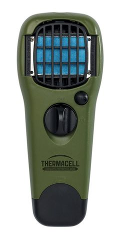 Thermacell MR-GJ Mosquito Repellent Outdoor and Camping Repeller Device, Green Mosquito Repellent Device, Insect Repellent, Foot Zoning, Black Fly, 20 M2, Flying Insects, Garden Guide, Cool Tools