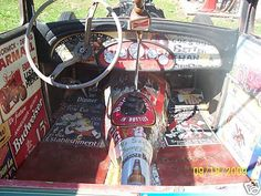 Rat Rod Interior