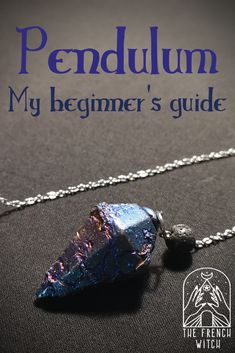 Pendulums are such amazing divination tools. You can take yours with you anytime and, with a little practice, contact easily your intuition. But if you are totally new to the subject, here comes some tips to begin your pendulum journey. Witchcraft Spell Books, Wiccan Spell Book, Wiccan Spells, Magick, Pagan, Spells For Beginners, Witchcraft For Beginners, Chakra Crystals, Crystals And Gemstones