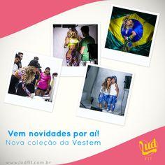 Coleção Inverno 2014 Vestem www.ludfit.com.br