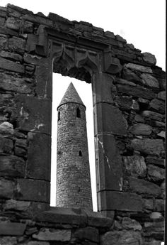 Ratoo Round Tower (1,000 yrs old), Ballyduff, Kerry, Ireland Copyright: Tim Leahy