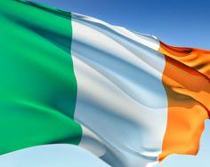 Flag.  Green-White-Orange
