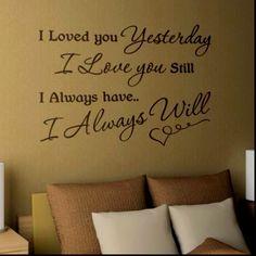 cool bedroom wall idea