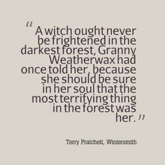 Granny Weatherwax - Tiffany Aching - Wintersmith - Terry Pratchett